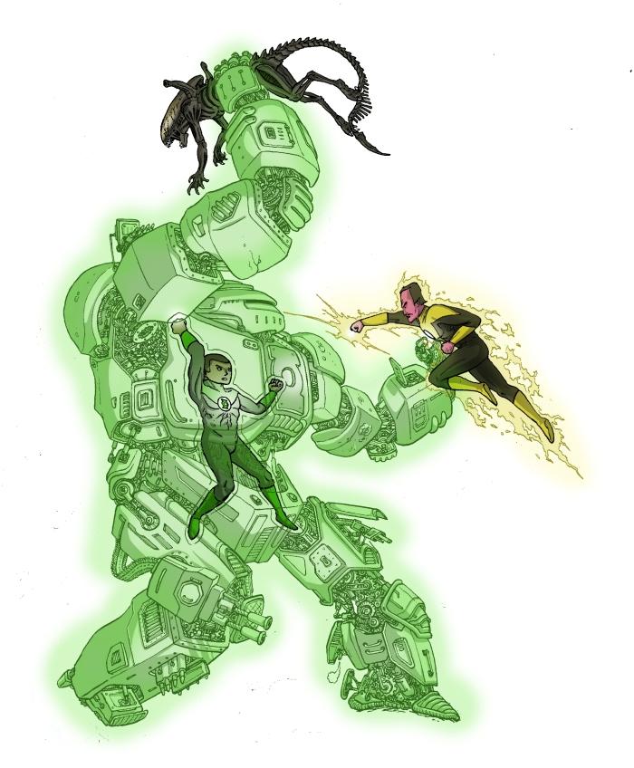 Green Lantern John Stewart