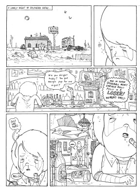 Super Speed Ball Run Issue 2 Page 1