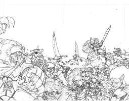 BattleBeasts Variant Cover