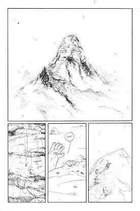 Motro climbs the Mountain