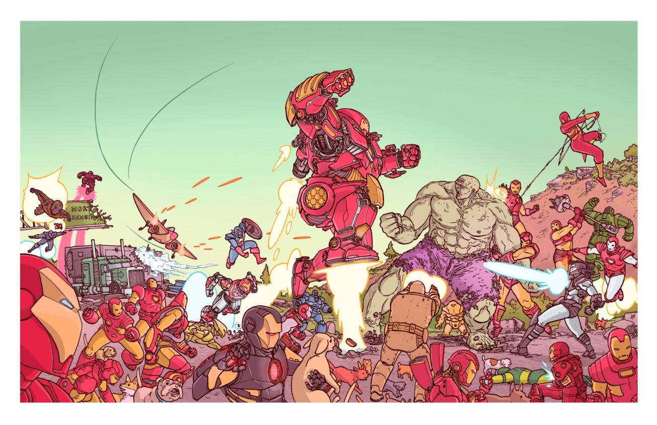IRONMEN vs. hulk
