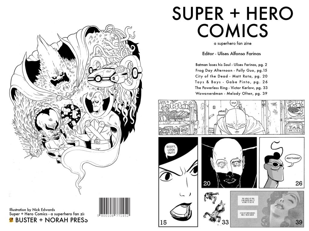 BUY SUPER + HERO COMIX FANZINE, $10