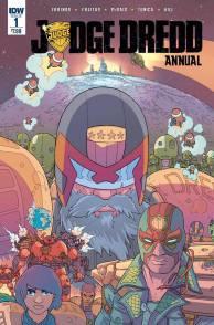 Judge Dredd Annual, Art by Ulises Farinas, Pablo Tunica, Dan McDaid