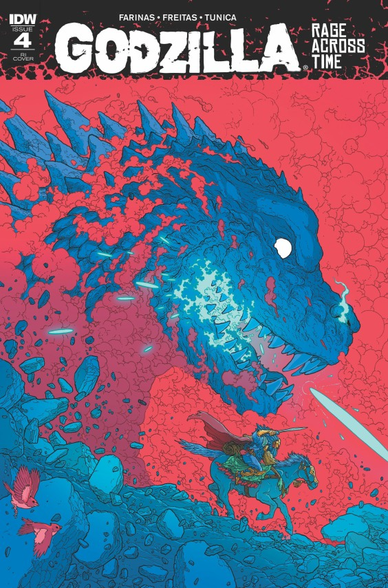 Godzilla: Rage Across Time, Art by Pablo Tunica