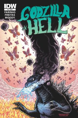 Godzilla in Hell, Art by Buster Moody