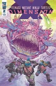 Teenage Mutant Ninja Turtles: Dimension X, Art by Michael Dialynas
